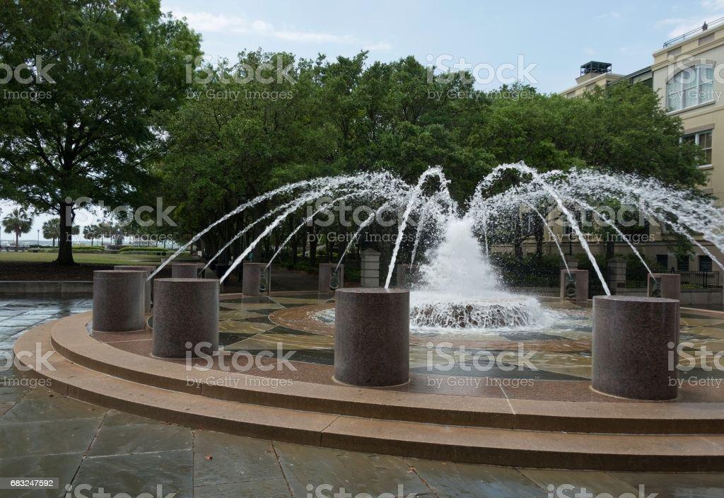 Waterfront Park, Charleston, South Carolina Lizenzfreies stock-foto