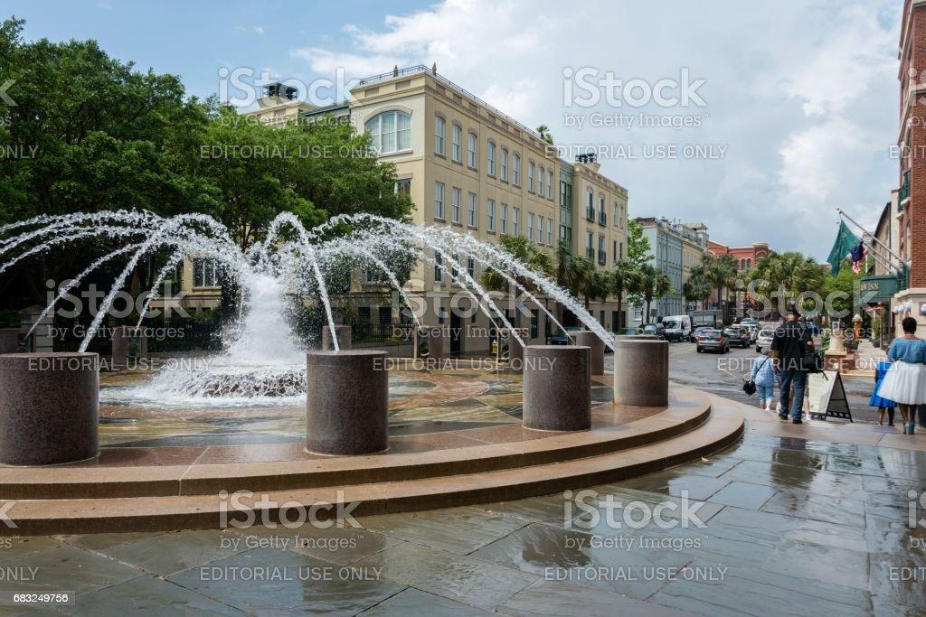 Waterfront Park, Charleston, South Carolina royalty-free stock photo