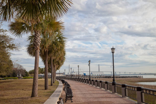 Park am Wasser in Charleston, South Carolina – Foto