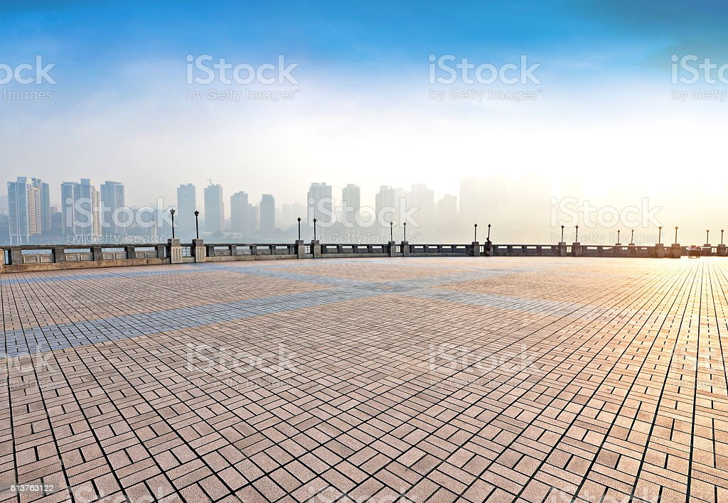 Waterfront Park stock photo