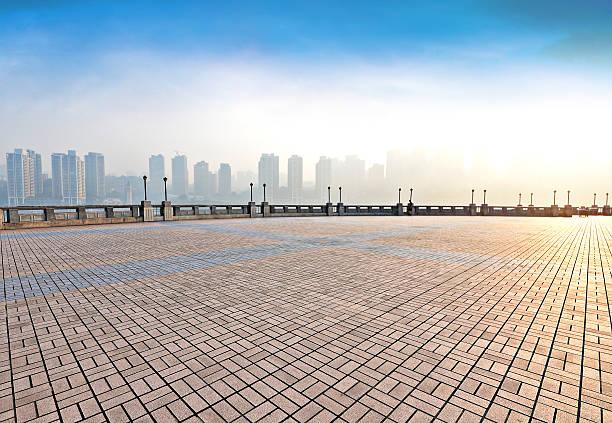 Waterfront Park stock photo