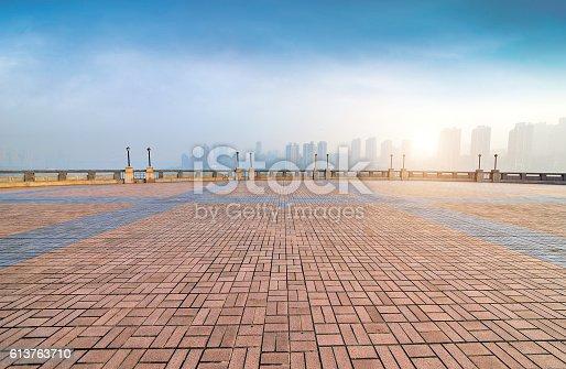 istock Waterfront Park 613763710