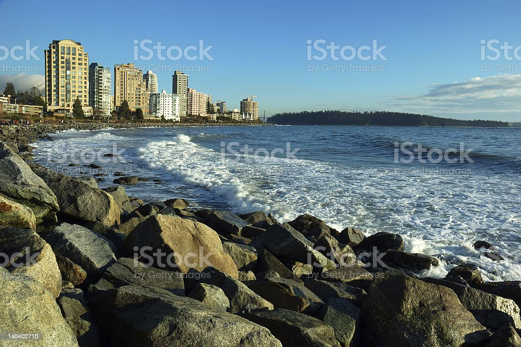 Waterfront stock photo