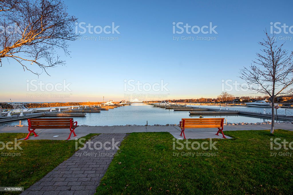 Waterfront Promenade stock photo