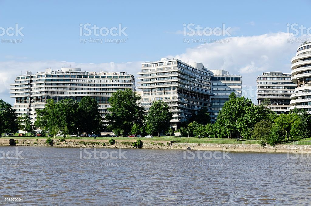 Watergate Complex Washington Dc Stock Photo Download Image Now