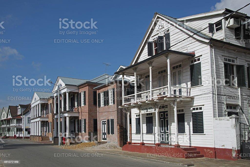 Waterkant Street stock photo