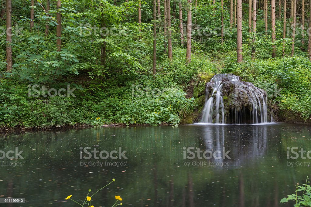 Waterlandscape. stock photo