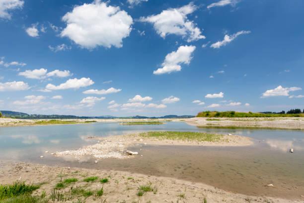 Wasserlos Forggensee See in Bayern, Deutschland – Foto