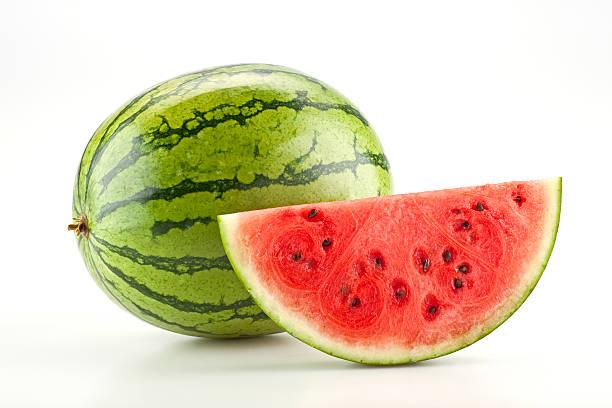 E uma fatia de melancia - foto de acervo