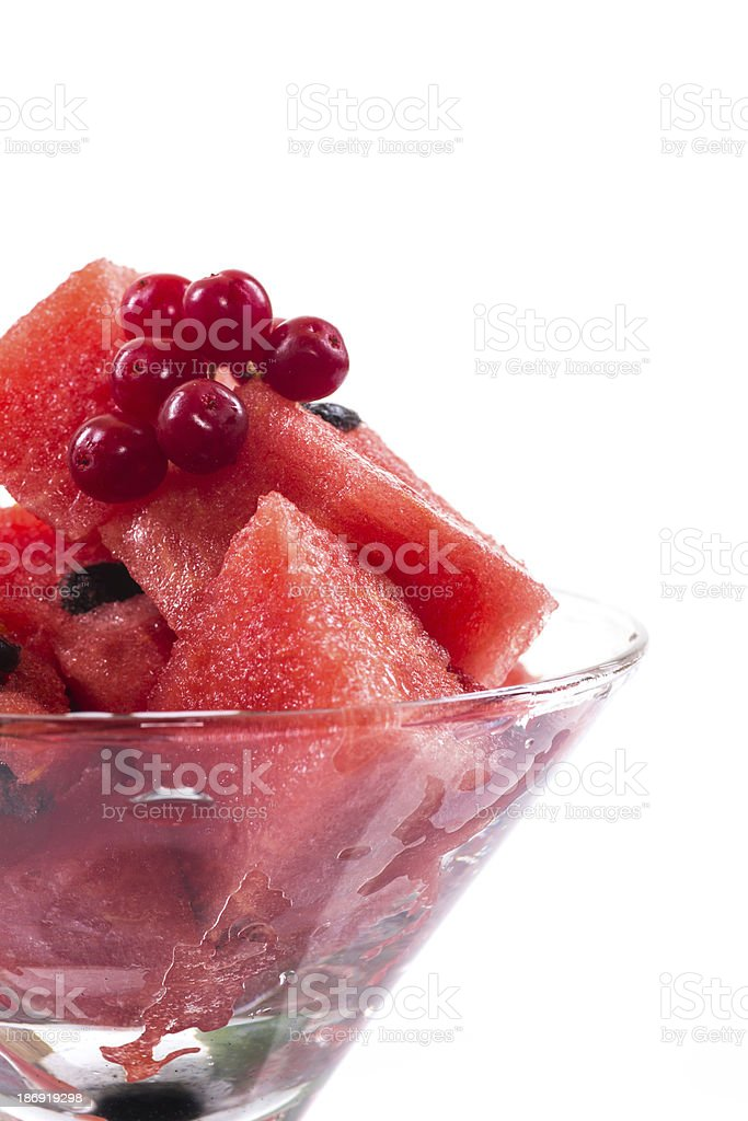 Watermelon cocktail royalty-free stock photo