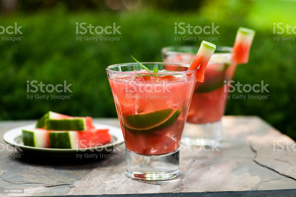 Wassermelonen-cocktail – Foto