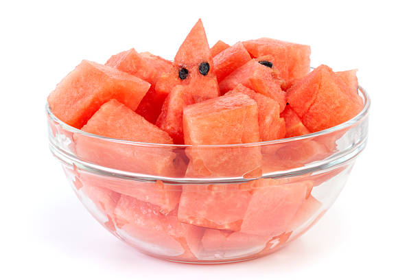 Watermelon for eating stock photo