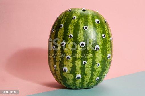 istock Watermelon freak pink 668628310