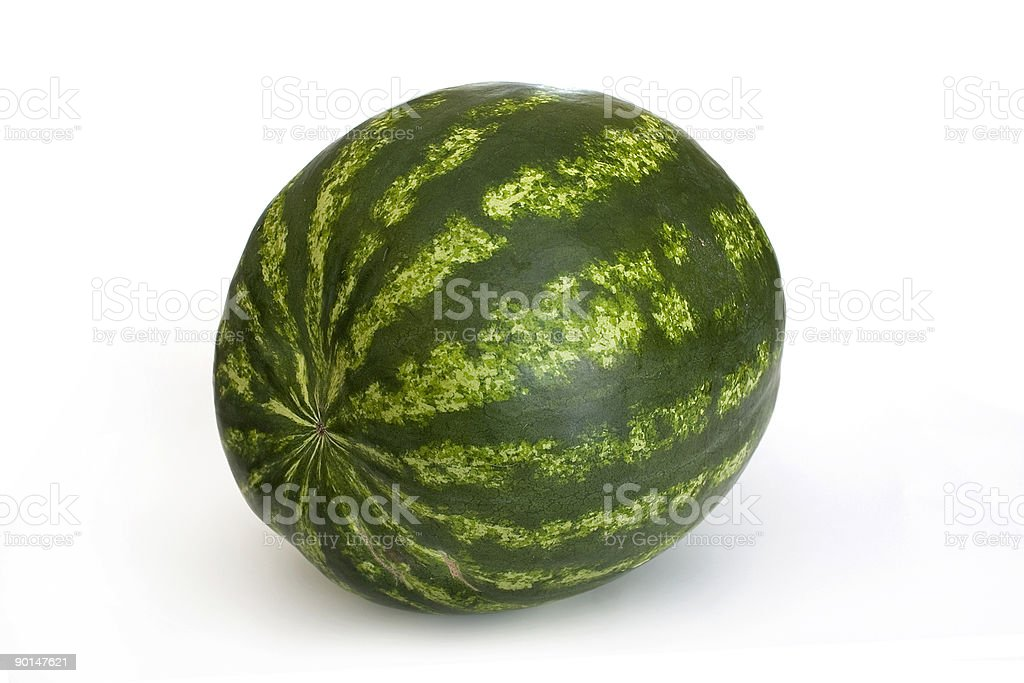 watermelon isolated on white royalty-free stock photo