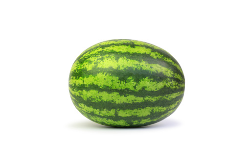 watermelon isolated over white background