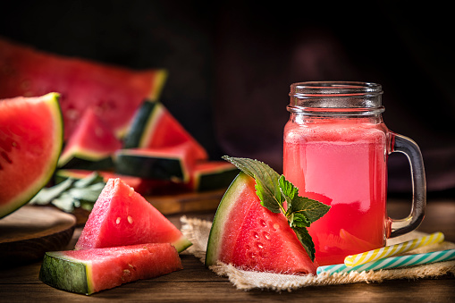Close-up of watermelon in field