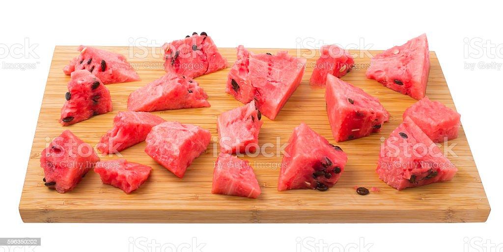 Watermelon on royalty-free stock photo