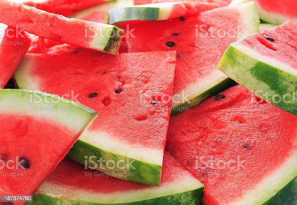 Watermelon.Shallow dof.