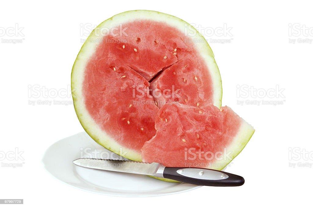 watermelon royalty free stockfoto