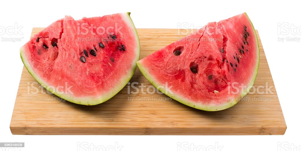 water-melon quarter royalty-free stock photo
