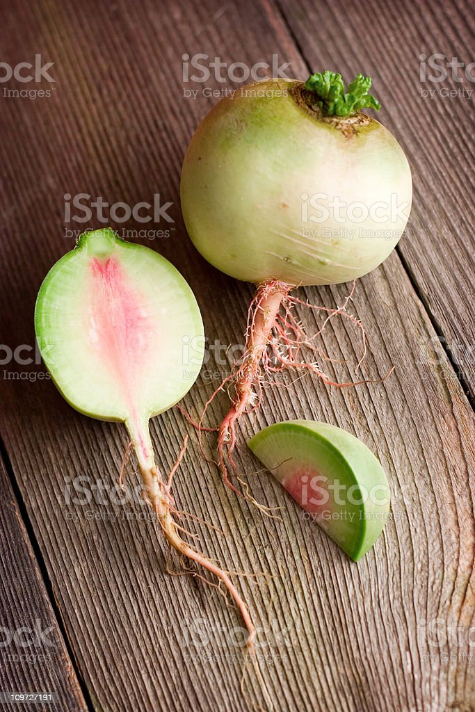 Watermelon Radish royalty-free stock photo