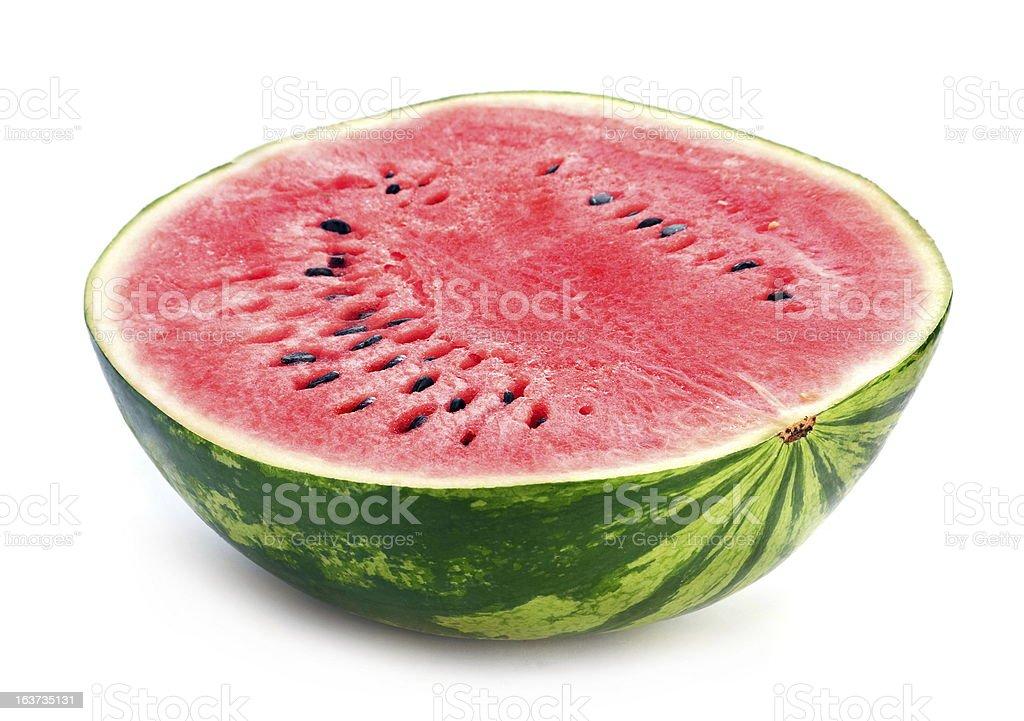 Watermelon slice detail royalty-free stock photo