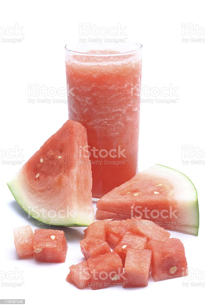 Watermelon Smoothie royalty-free stock photo