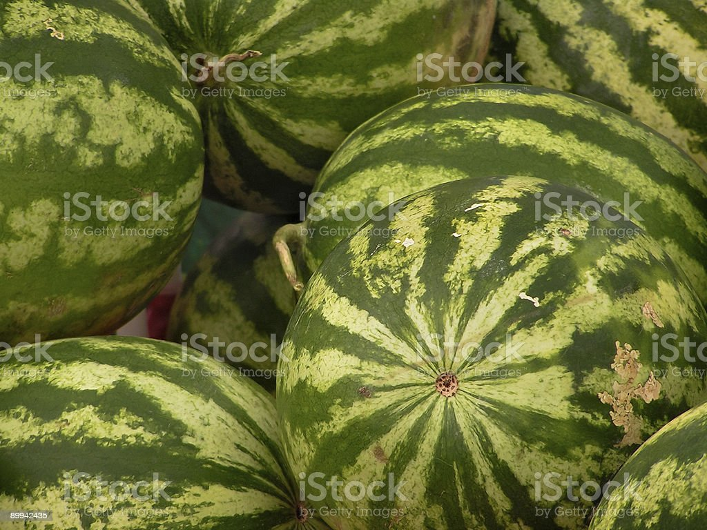 Watermelon Stack royalty-free stock photo