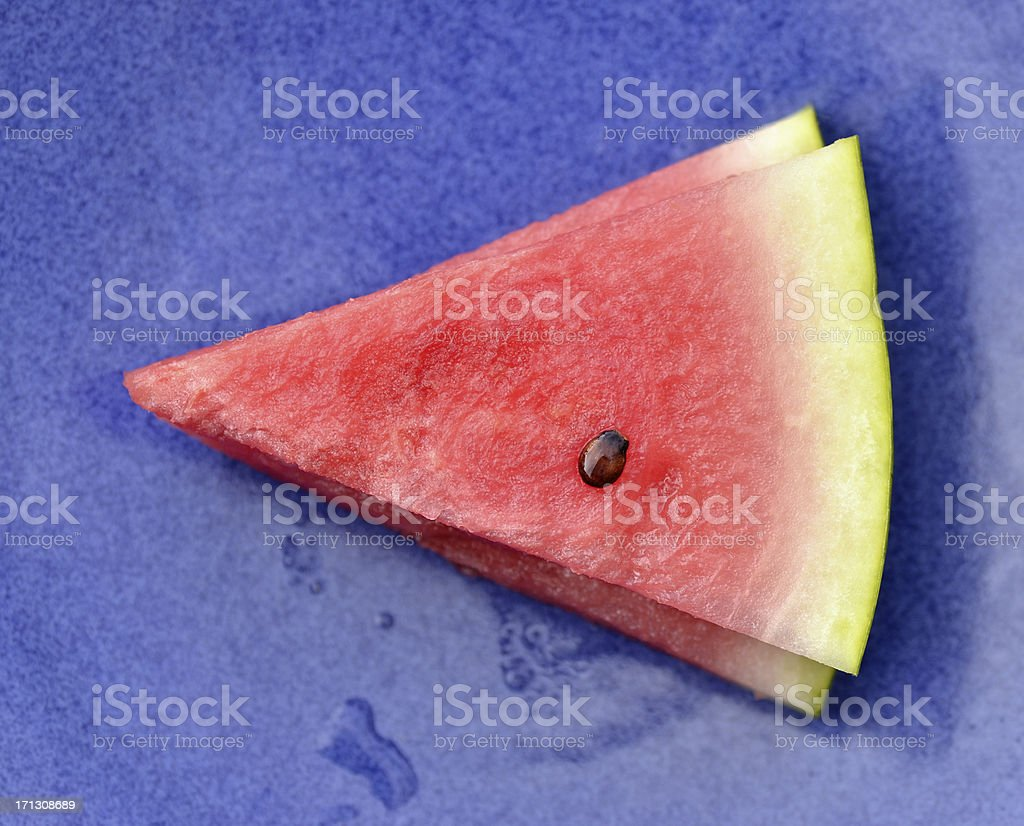 Watermelon Wedges royalty-free stock photo