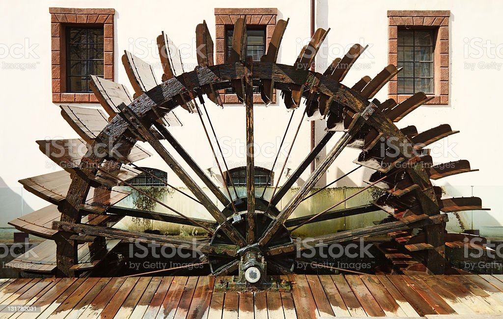 Watermill in Prague royalty-free stock photo