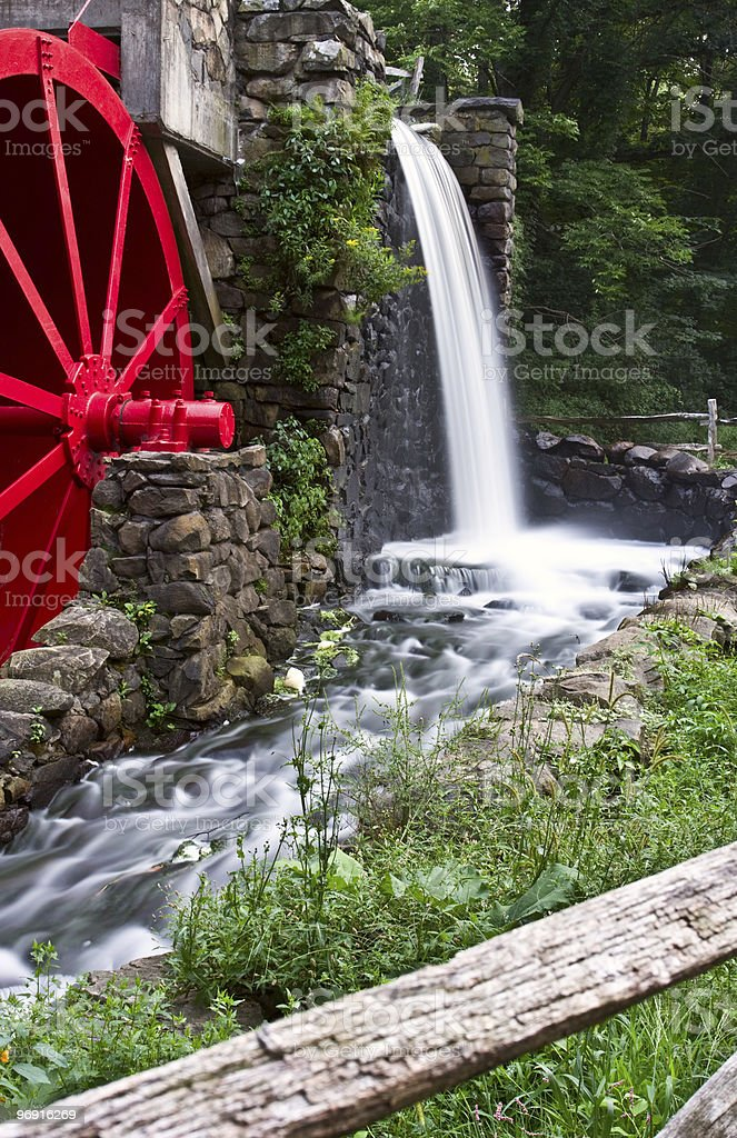 Watermill royalty-free stock photo