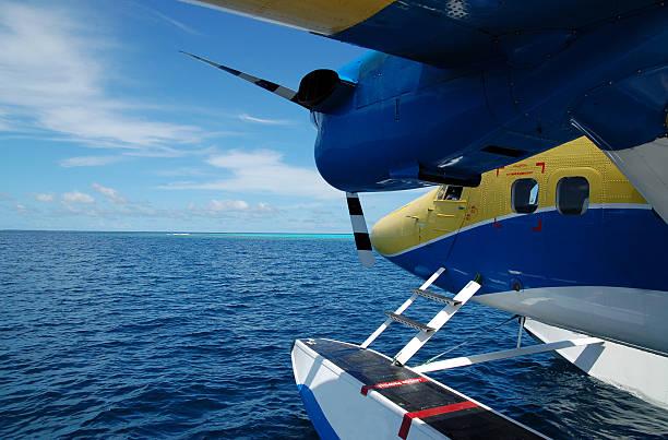 waterplane stock photo