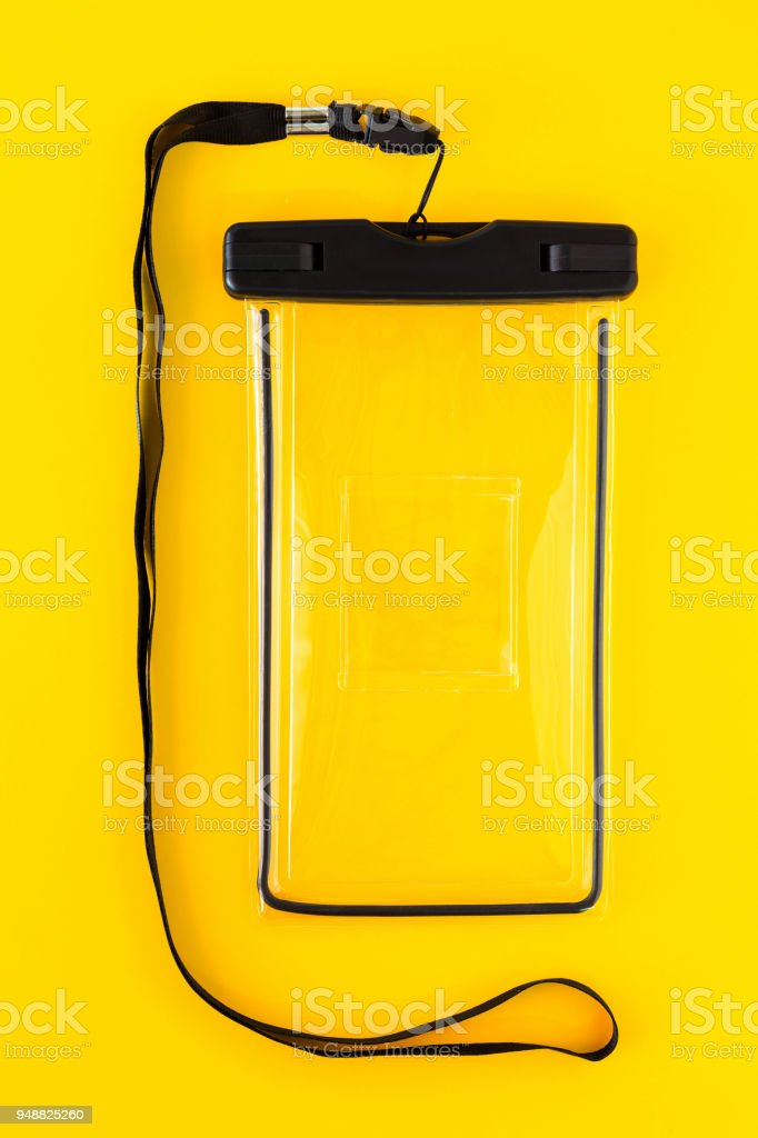 Waterproof Case for Smartphones stock photo