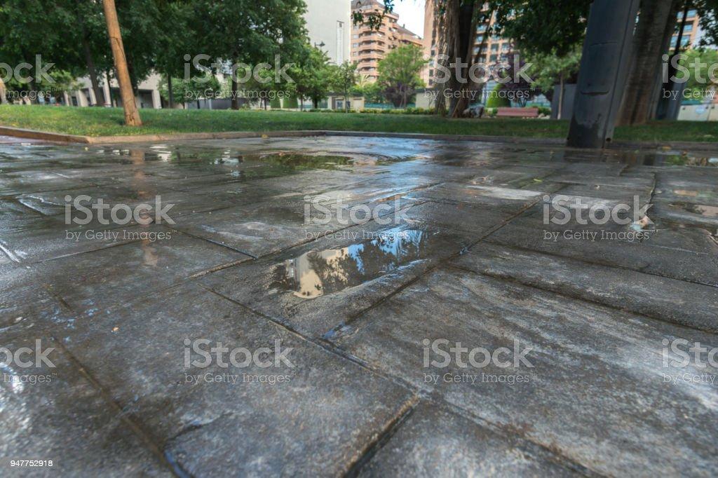 Wasserdichte Äußere Beschichtung Nass Betondecke Gestempelt ...