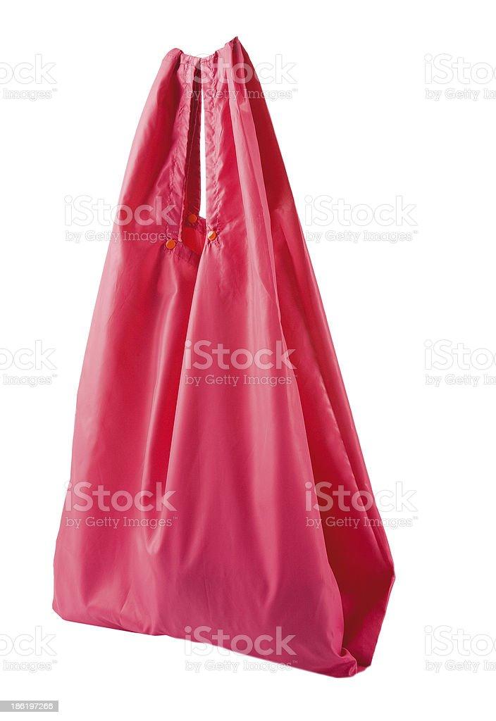 Waterproof pink bag royalty-free stock photo