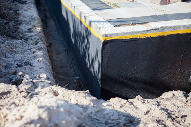 Waterproof waterproofing of the house foundation Waterproof waterproofing of the house foundation waterproof stock pictures, royalty-free photos & images