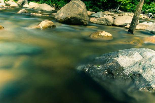 waters of white mountain national park - loudon stock photos and pictures