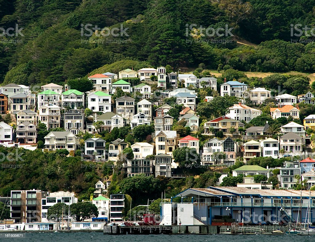 Waterside Real Estate stock photo