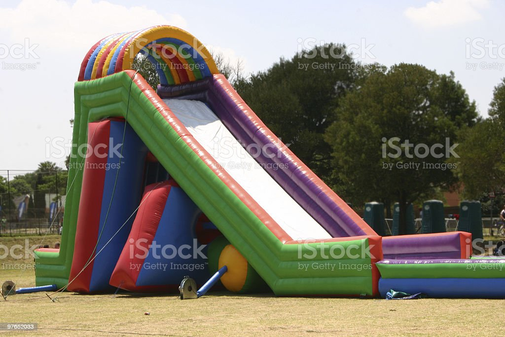 Waterslide stock photo