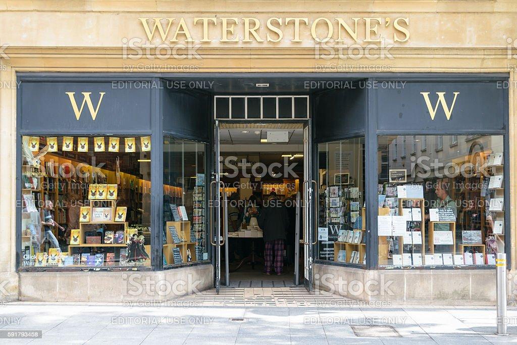 Waterstones bookshop exterior stock photo