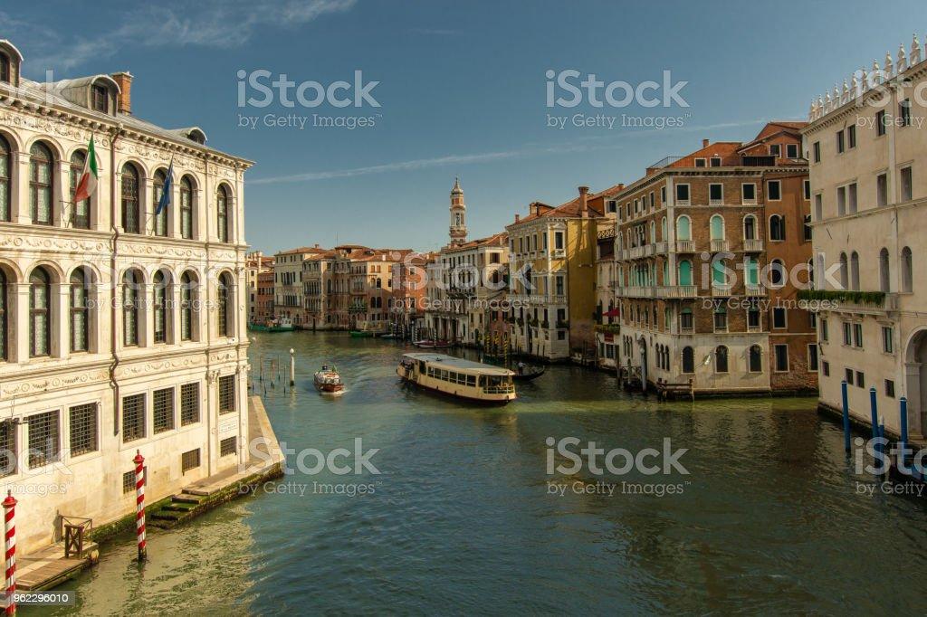 Wassertaxi am Canal Grande – Foto