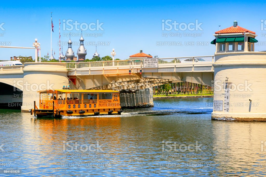 Watertaxi Passes Under The West Kennedy Street Drawbridge In ...