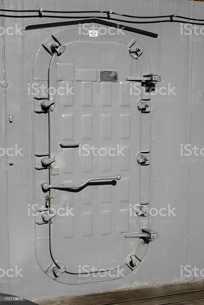 Watertight Door on Navy Ship royalty-free stock photo & Watertight Door On Navy Ship Stock Photo u0026 More Pictures of ...