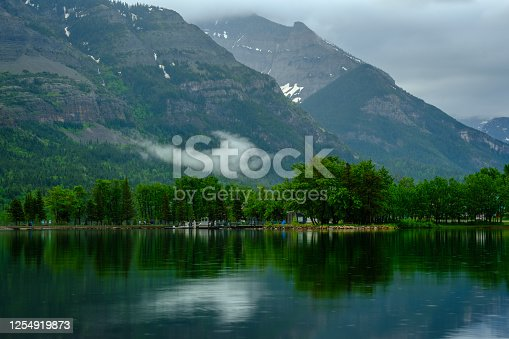 istock Waterton and Lakes National Park, Alberta, Canada. 1254919873