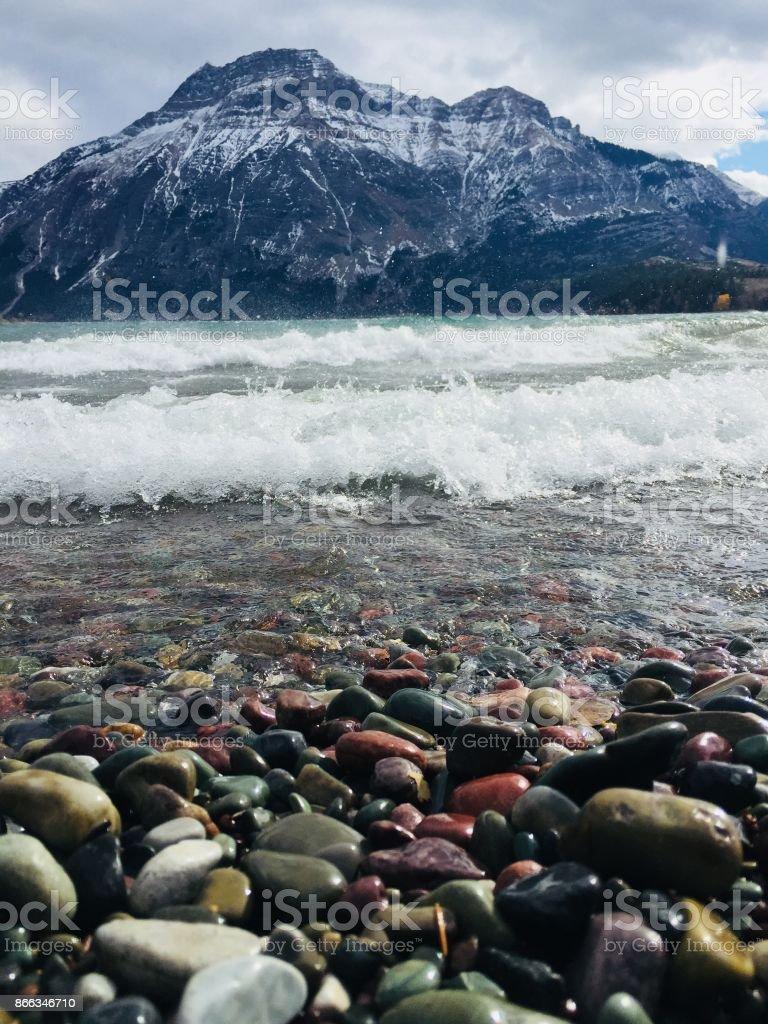 Waterton Lakes National Park, Rocky Mountains, Southern Alberta, Canada stock photo
