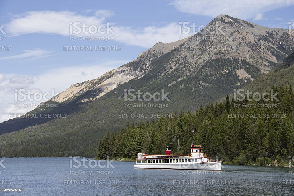 Waterton Lakes royalty-free stock photo