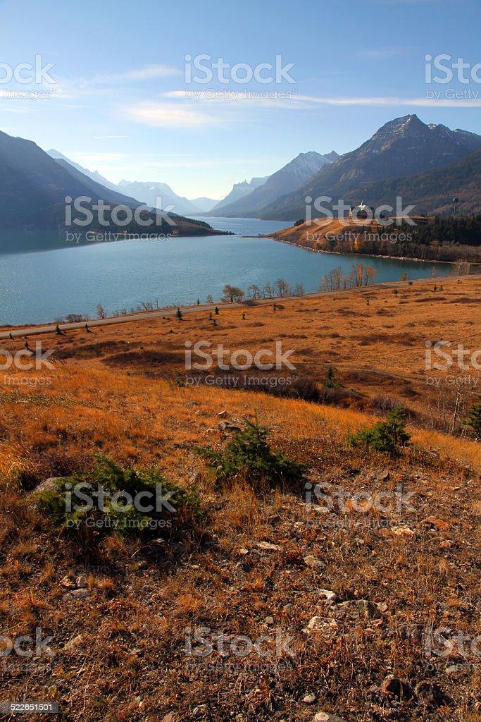 Waterton Valley stock photo