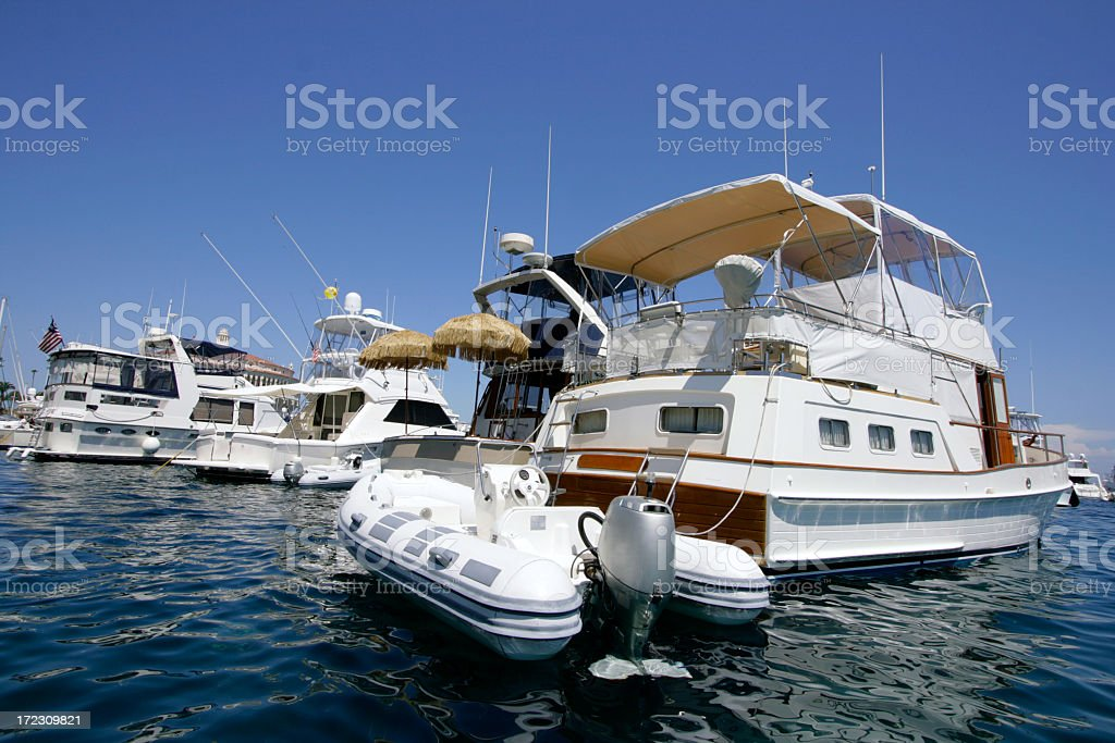 Waterview yacht royalty-free stock photo