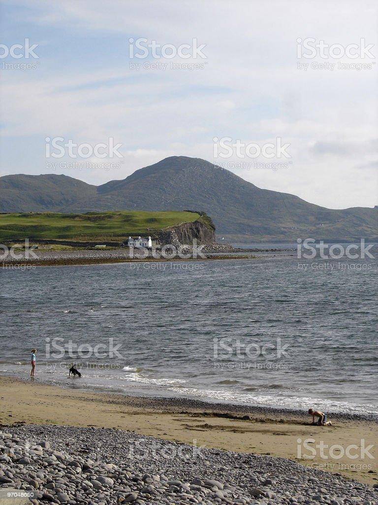 Waterville beach, Ireland royalty-free stock photo