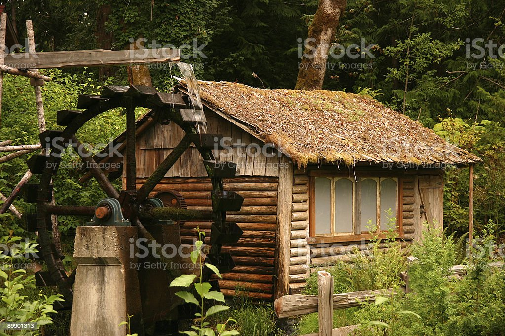 Waterwheel royalty-free stock photo